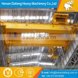 Light to Heavy Duty Customer Sized 125 ton Double Girder Overhead Crane Lift Equipment for Sale