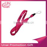 Tube Lanyard Different Kinds Of Colors Wite printed Lanyards and Swivel Hook Tube Lanyards