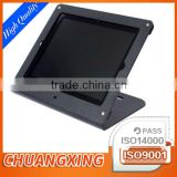 OEM sheet metal CNC precision programming forming making metal enclosures tablets stand black textured coating with full quality