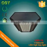 Led canopy light high bay lamp UGR<19 150lm/W Meanwell driver