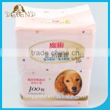 1.5kg Color Packing Breathable Soft Material Pet Pee Disposable Diapers Waterproof Pet Pad