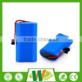 Heating clothes 18650 7.4v 2000mah lithium ion battery