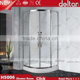 prefabricated unique cheap small round corner bath curved glass shower enclosure toilet sex shower room portable cabins for sal