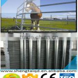 High quality Easily Assembled hot dipped galvanized Welded Metal Livestock Corrals Steel rails Cattle Yard Farm Fence Panels