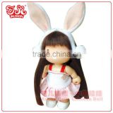 9cm fashion baby plastic doll toys keychain gifts
