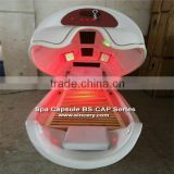 Hot sale full body spa steamer Spa Capsule traditional Chinese medicine treatment ionic detox foot spa