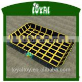 2016 hot Sale in ground trampolines, free design trampoline park price, top 1 trampoline basketball goal