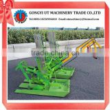 Hand Cranked 2 Rows rice planter machinery/rice transplanter