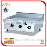 Heavy duty gas griddle with 3 burners GH-36