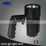 Guangzhou Factory rechargeable hand grip led explosion proof high power led searchlight cree torch emergency spotlight