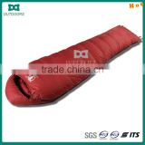 Popular classical adult down sleeping bag