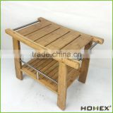 Crafted of 100% Natural Bamboo Bath Bench/Homex_BSCI
