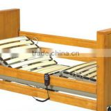 Hospital Beds2'' Pedal locking castors Electric Wooden hospital bed furniture THB3232WM