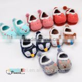 New design Coral fleece Cute Cartoon Baby Socks Soft Animal Pattern Boys Girls Floor Baby Socks