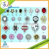 Hot sale crystal rhinestone button