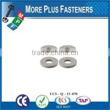 Made in Taiwan high quality plastic flat washer PVC Washer plastic washer
