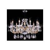 Baccarat E14 / E27 Contemporary Crystal Chandelier Lighting With 18 Lights