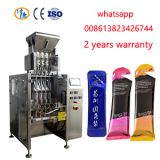 multi lanes sugar round corner stick sachet packing machine,multi lines round corner stick packing machine