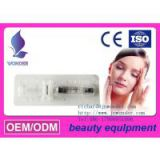 Injectiable Ophthalmic Instruments Sodium Hyaluronate Hyaluronic Acid Gel for eye surgery