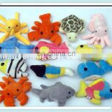 Lovely New design cute kids toy stuffed plush sea animals cartoon toy