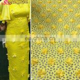 2017 Hot selling wholesale Guipure Lace FabricGuangzhou African Lace Embroidery Fabric High Quality Indian George Lace Fabric