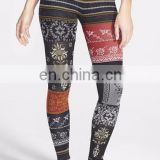 Sublimation printing women leggings