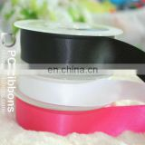 Double faced satin ribbons