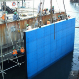 uhmwpe marine fender facing pad / uhmw pe dock fender face pad /