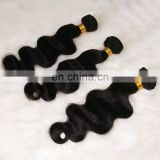 Hot Hair-free shipping natural black donor top grade 5a 100% virgin brazilian hair- unproessed brazilian body wave virgin hair