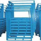 Warehouse steel pallet stacking rack