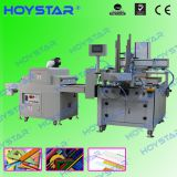 One color flatbed silk screen printer for plastic ruler