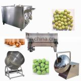 Automatic Coated Peanut Production Making Machine Chocolate Powder Peanut Sugar Coating Machine Line