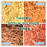 sodium sulfide yellow/red flakes sodium hydro sulfide