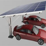 Easy Parking Carbon Steel Solar Cantilever Carport Mounting System