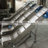 Easy-belt new version flexible material handling equipment-output conveyor for finished bags or cartons