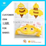 2016 Cotton Baby Hooded Towel Wrap Baby Bath Towels with Customized Design