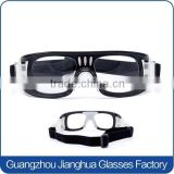 Adjustable eye protective safety dribbling aid basketball sport glasses goggles