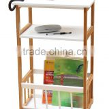 Hot Selling Console Table with Storage Bin and Shelf