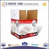 wholesale cake paper box with handle and competitive Price Recycle Outer Carton Corrugated Paper Box