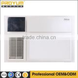 5000K LED illumination for long life with temperture display for ceiling bathroom PTC heater