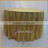 SQN64E bulk cheap shiny shape gold sequin glitter table cloth                                                                         Quality Choice