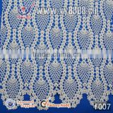 Fashion design cotton embroidery fabric