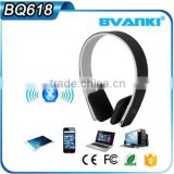 BQ618 BQ-618 new products 2016 High Quality foldable wireless bluetooth headphone 3.0 Hi-Fi stereo gaming headphone for iphone 6