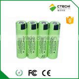 E-vehicle lithium battery NCR18650PF 2900mAh 3.6V rechargeable power type battery, 10A high drain battery