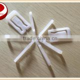 white plastic clips for garment package,transparent plastic clip for shirt, clips for shirt