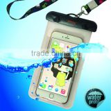 Hot new products waterproof cell phone cases, PVC mobile phone waterproof bag for promotional gift                                                                         Quality Choice