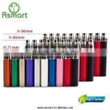 Asmart Wholesales e cigarette colorful ego t ce5 starter kit with blister pack or ego zipper case