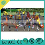 Children Outdoor Paying Climbing Wall