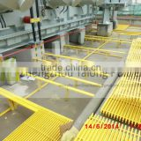 anti-slip frp fiberglass floor grating, high strength and durable glassfiber floor grating