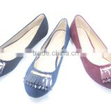 wholesale footwear comfort flat shoes ladies party wear shoes                                                                         Quality Choice